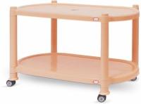 Surprise TEAPOY 2800 Plastic Bedside Table (Finish Color - Beige)