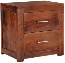 Smart Choice Furniture Rosewood (Sheesham)_JIBS27_Matte finish Solid Wood Bedside Table