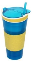 Dragon Snackeez Multi Purpose Drink & Snack Travel Cups (Multicolour)