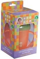 Mee Mee Baby's Non-Spill Feeding Cup (Orange) (Orange, Green)
