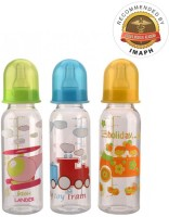 MeeMee Premium Feeding Bottle 3 Pcs Set (250Ml) (MultiColor)