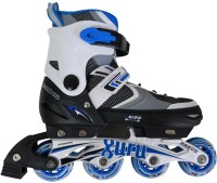 Guru Inline Super Speed In-line Skates - Size 31-34 Euro (Blue, White)