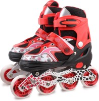 Zillion Zillion ZS011 Inline Skates 5002 Medium Size (Red) In-line Skates - Size 35-38 Euro (Red)