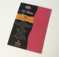 Canson Mi-Teintes A4 Colour Sheets 160gsm - Red 505 Sketch Pad (Red, 5 Sheets)