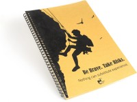 Thinkpot Be Brave. Take Risks Sketch Pad (Brown, 40 Sheets)