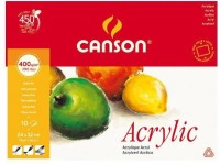 Canson Acrylic Sketch Pad (White, 10 Sheets)