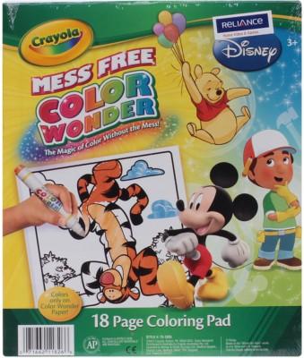 Crayola Wonder colouring Sketch Pad Multicolor, 18 Sheets