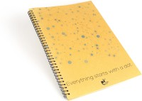 Thinkpot Everything Starts With A Dot Sketch Pad (Brown, 40 Sheets)