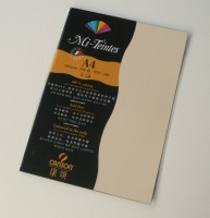 Canson Mi-Teintes A4 Colour Sheets 160gsm - Cream 407 Sketch Pad (Cream, 5 Sheets)