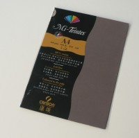 Canson Mi-Teintes A4 Colour Sheets 160gsm - Sepia 133 Sketch Pad (Sepia, 5 Sheets)