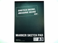 Tools Int'l Marker Pad A3 Sketch Pad (Multicolor, 50 Sheets)
