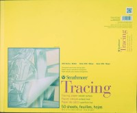 Strathmore Tracing Pad A3 Sketch Pad (Multicolor, 50 Sheets)