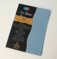 Canson Mi-Teintes A4 Colour Sheets 160gsm - Light Blue 490 Sketch Pad (Light Blue, 5 Sheets)