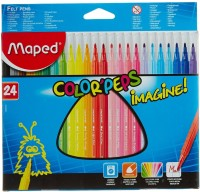Maped Color'Peps Imagie! Superfine Medium Tip Nib Sketch Pens  With Washable Ink (Set Of 1, MultiColor)