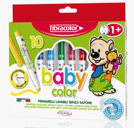 Fibracolor Baby Color Superfine Nib Sketch Pens  with Washable Ink