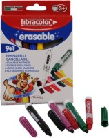 Fibracolor Erasable Color Fine Nib Sketch Pens  With Washable Ink (Set Of 1, Multicolor)