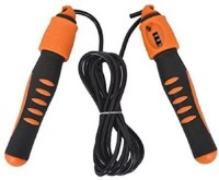 Dezire Jump Rope With Counter Freestyle Skipping Rope (Orange, Black, Pack Of 1)