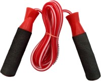 Premium Quality PVC Ball Bearing Skipping Rope (Red, Black, Pack Of 1)