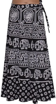 Pezzava Printed Women's Wrap Around Skirt - SKIE4BQ3XRXAK2EF