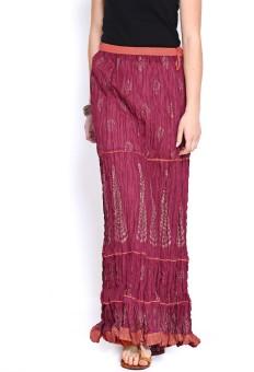 Biba Printed Women's Broomstick Skirt
