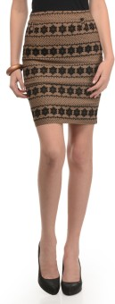 Mayra Embroidered Women's Pencil Skirt