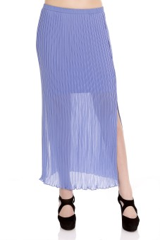 109F Solid Women's Straight Skirt