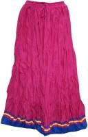 Indiatrendzs Solid Women's A-line Skirt