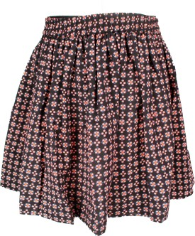Shoppertree Printed Girl's A-line Skirt