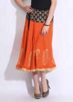 Ira Soleil Printed Women's Skirt