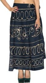 Rajrang Checkered Women's Wrap Around Skirt