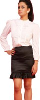 Schwof Solid Women's Pencil Skirt - SKIDU8YQPFFH67FV