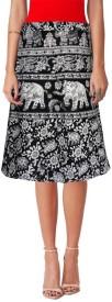 Sttoffa Printed Women's Wrap Around Skirt