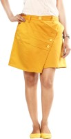 Uber Urban Solid Women's Midi Skirt
