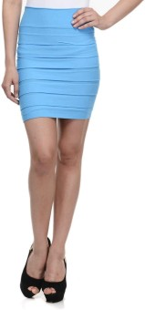 N-Gal Striped Women's Pencil Skirt - SKIE8JXTBDG7DAW2