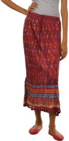 Fashiana Floral Print Women's Regular Skirt