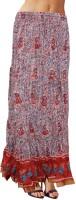 Sttoffa Printed Women's Tiered Skirt - SKIDWFVCFMCTXBU6