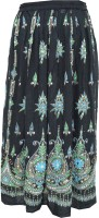 Indiatrendzs Embellished Women's A-line Skirt
