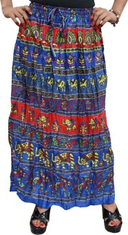 Indiatrendzs Animal Print Women's A-line Skirt