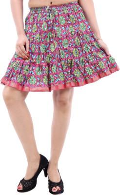 Desert Eshop Printed Women's A-line Skirt