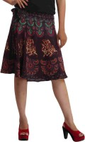 Indi Bargain Animal Print Women's Wrap Around Skirt