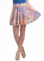 Heart 2 Heart Printed Women's Skirt