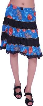 Jevaraz Printed Women's Regular Skirt - SKIE3TRRKNHVYEXU