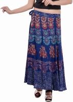 Indi Bargain Animal Print, Floral Print, Printed Women's Wrap Around Skirt - SKIEFKH5PERWBF9H