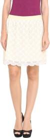 Pryma Donna Solid Women's Regular Skirt