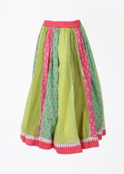Biba Printed Girl's Gathered Skirt