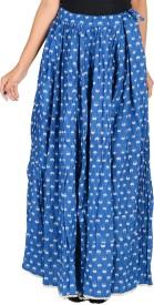 REME Floral Print Women's Regular Multicolor Skirt