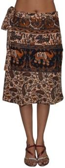 Pezzava Printed Women's Wrap Around Skirt - SKIE355ZHMW4QHZS