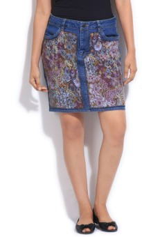 People Floral Print Women's Skirt