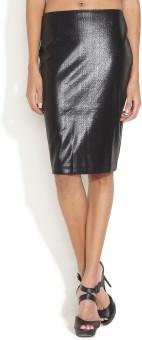 Avirate Solid Women's Pencil Skirt