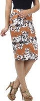 Meee Floral Print Women's Pencil Skirt